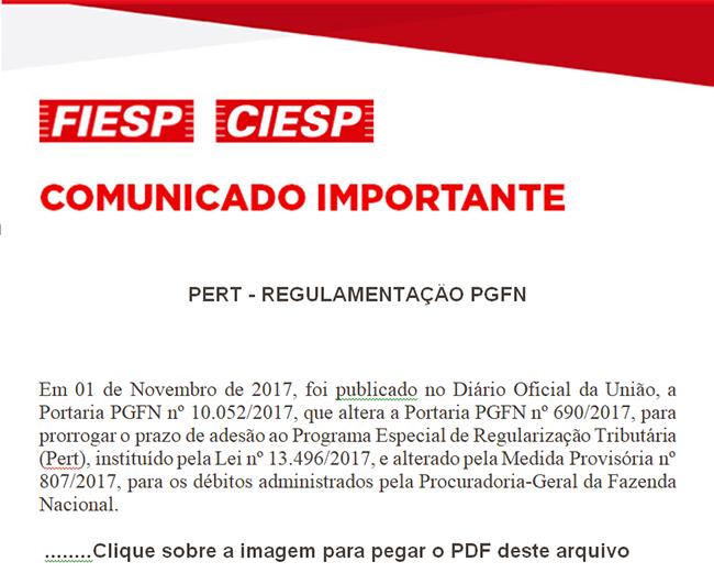 ComunicadoImportante-PERT-REGULAMENTACAO-PGFN