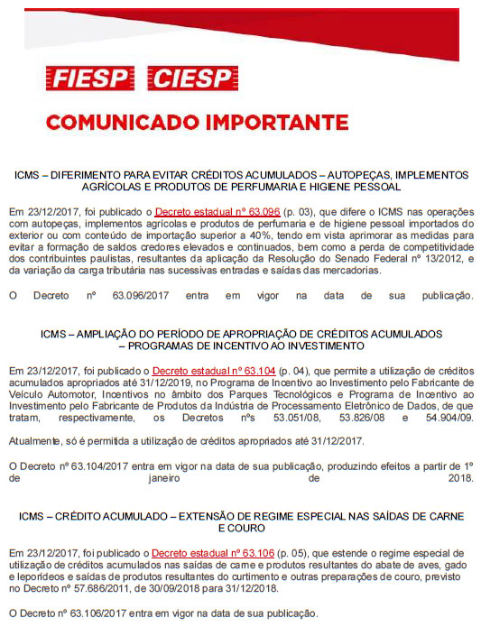 CI-ICMS-DiferimentoParaEvitarCreditosAcumulados