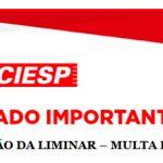 Comunicado Importane - SUSPENSÃO DA LIMINAR – MULTA DO FRETE