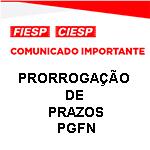 Comunicado Importante - PRORROGAÇÃO DE PRAZOS - PGFN